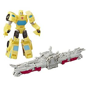 Boy's Transformers Cyberverse Spark Armor Bumblebee Action Figure by Hasbro
