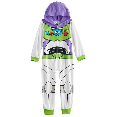 Boy's 4-10 Disney / Pixar's Toy Story Buzz Lightyear Fleece Union Suit
