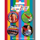 GAMAGO Mister Rogers 4 Button Pack