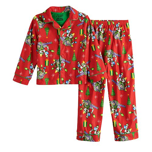 Boys 4-10 Disney / Pixar's Toy Story Buzz Lightyear 2-Piece Pajama Set