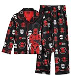 Boys 6-12 Star Wars Episode 9 Sith Trooper Top & Bottoms Pajama Set