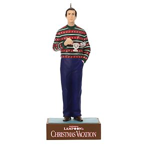 National Lampoon's Christmas Vacation Clark's Cup of Cheer 2019 Hallmark Keepsake Christmas Ornament with Sound
