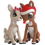 Rudolph the Red-Nosed Reindeer: Rudolph & Clarice 2019 Hallmark Keepsake Light-Up Christmas Ornament