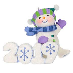 Frosty Fun Decade 2019 Hallmark Keepsake Christmas Ornament