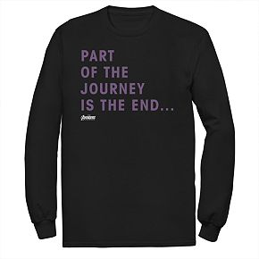 Men's Marvel Avengers Endgame Journey Tee