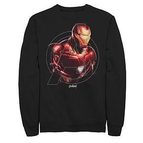 Mens Marvel Avengers Endgame Iron Man Hero Sweatshirt