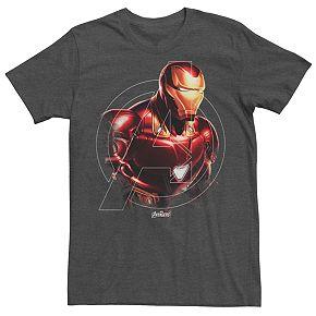 Men's Marvel Avengers Endgame Iron Man Hero Tee