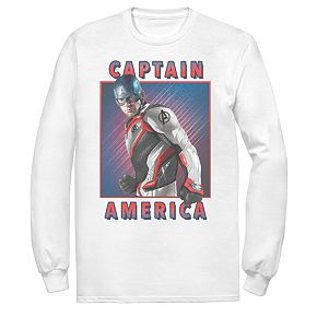 Men's Marvel Avengers Endgame Captain America Armor Tee