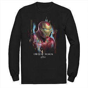 Men's Marvel Avengers Iron Man Portrait Tee