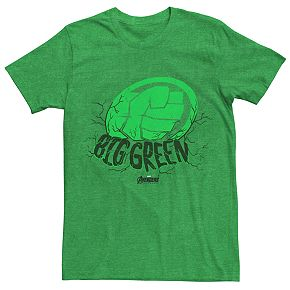 Men's Marvel Avengers Endgame Hulk Big Green Tee
