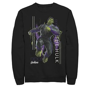 Men's Marvel Avengers Endgame Hulk Space Sweatshirt