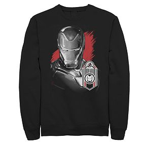 Mens Marvel Avengers Endgame Iron Man Sweatshirt