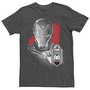 Men's Marvel Avengers Endgame Iron Man Tag Tee