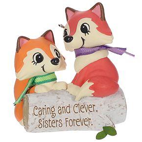 Clever Sisters Foxes 2019 Hallmark Keepsake Christmas Ornament