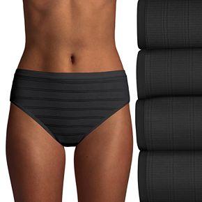 Hanes Ultimate 4-pack Breathable Comfort Flex Fit Hi Cut Panties 43CFF4