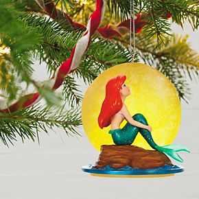 Disney's The Little Mermaid Part of Your World 2019 Hallmark Keepsake Christmas Ornament with Music & Light