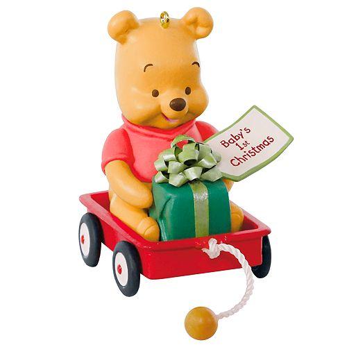 Disney S Winnie The Pooh Baby S First Christmas 2019 Hallmark Keepsake Christmas Ornament