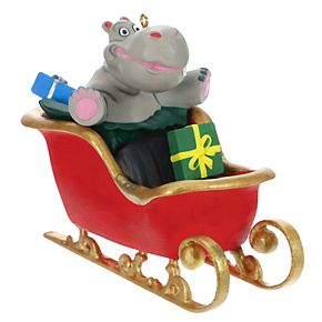 I Want a Hippopotamus for Christmas 2019 Hallmark Keepsake Christmas Ornament with Music