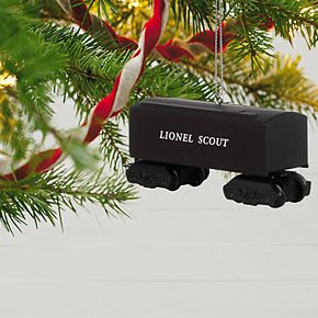 Lionel 1001T Scout Tender Metal 2019 Hallmark Keepsake Christmas Ornament