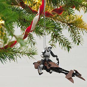 Star Wars: Return of the Jedi - A Wild Ride on Endor 2019 Hallmark Keepsake Christmas Ornament with Sound