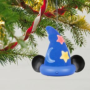 Disney's Fantasia: The Sorcerer's Apprentice 2019 Hallmark Keepsake Christmas Ornament with Light