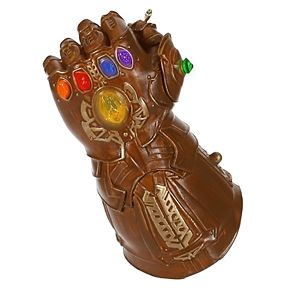 Marvel Studios Avengers: Endgame Infinity Gauntlet 2019 Hallmark Keepsake Christmas Ornament with Light