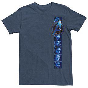 Men's Marvel Endgame Photo Strip Logo Tee