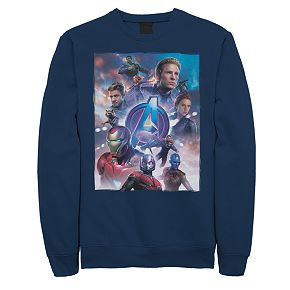 Men's Marvel Avengers Action Group Sweatshirt