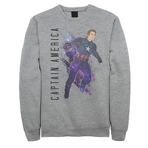 Men's Marvel Avengers Endgame Captain America Sweatshirt