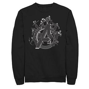 Men's Marvel Avengers Endgame Logo Sweatshirt