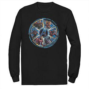 Mens Avengers Endgame Logo Circle Tee
