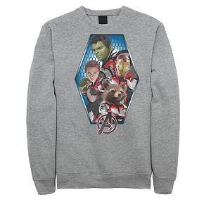 Mens Marvel Avengers Endgame Group Pose Sweatshirt