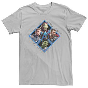 Men's Marvel Avengers Endgame Team Square Tee