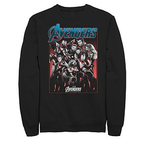 Men's Marvel Avengers Engame Group Suit Pose Sweatshirt