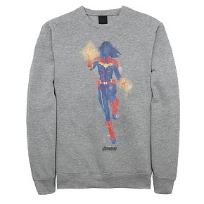 Men's Marvel Avengers Endgame Captain Marvel Sweatshirt