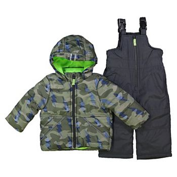 OshKosh BGosh Baby Boys Ski Jacket and Snowbib Snowsuit Set
