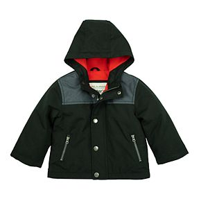 Toddler Boy Carter's Brushed Poly Micro Fleece-Lined Jacket