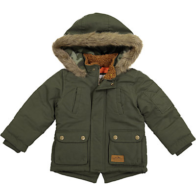 Toddler Boy Carter's Brushed Poly Micro Heavyweight Parka