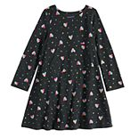 Girls 4-12 Jumping Beans® Adaptive Print Skater Dress
