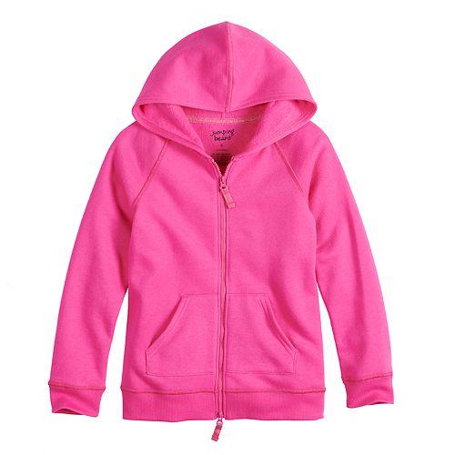 Girls 4-12 Jumping Beans® Adaptive Fleece Hoodie