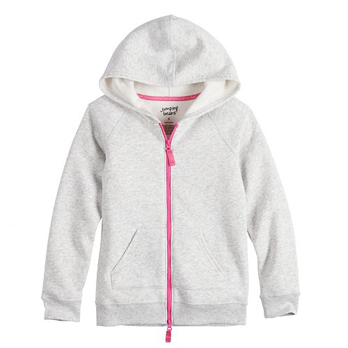 Girls 4-12 Jumping Beans® Adaptive Fleece Hoodie