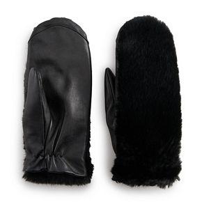 Women's Apt. 9® Faux Fur Tech Mitten