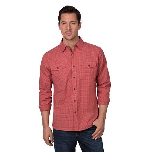 Men's Lee® Western-Style Button-Down Shirt