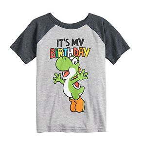 Boys 4-12 Jumping Beans® Nintendo Yoshi Birthday Graphic Tee