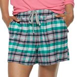 Women's SONOMA Goods for Life? Flannel Pajama Shorts