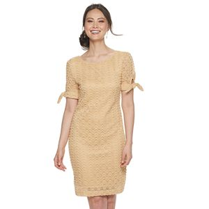 Women's Sharagano Textured Sheath Dress