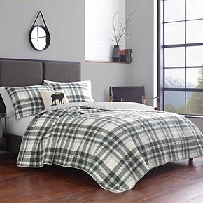 Eddie Bauer Coal Creek Quilt Set