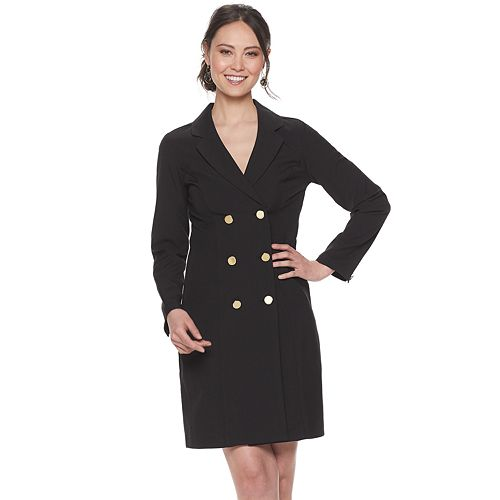 Women's Sharagano Double-Breasted Blazer Dress