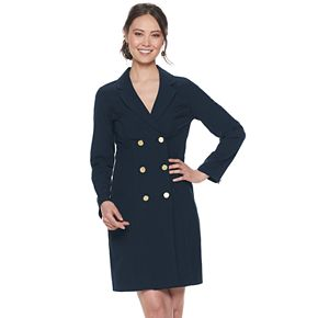 Women's Sharagano Double-Breasted Blazer Dress