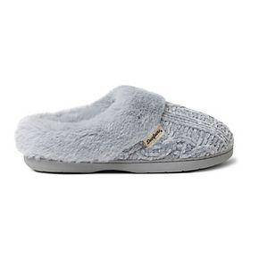 Women's Dearfoams Chenille Clog Slippers